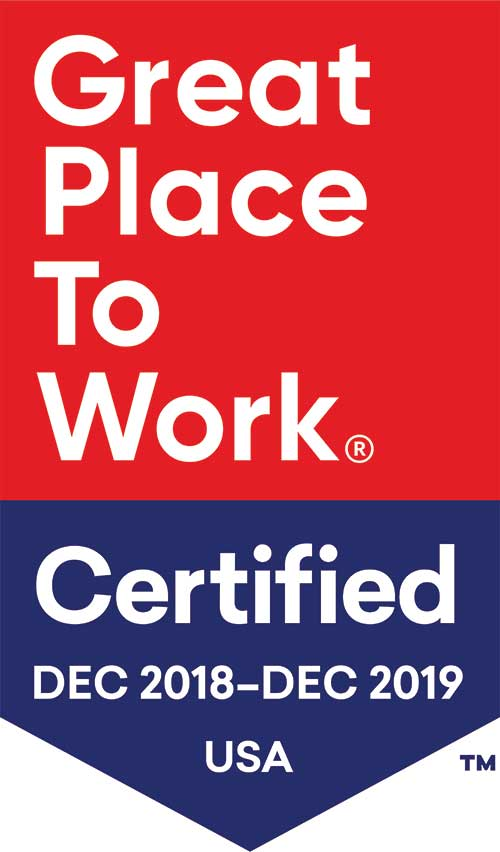 great place to work badge